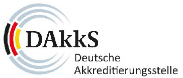 Accredited by DAkkS